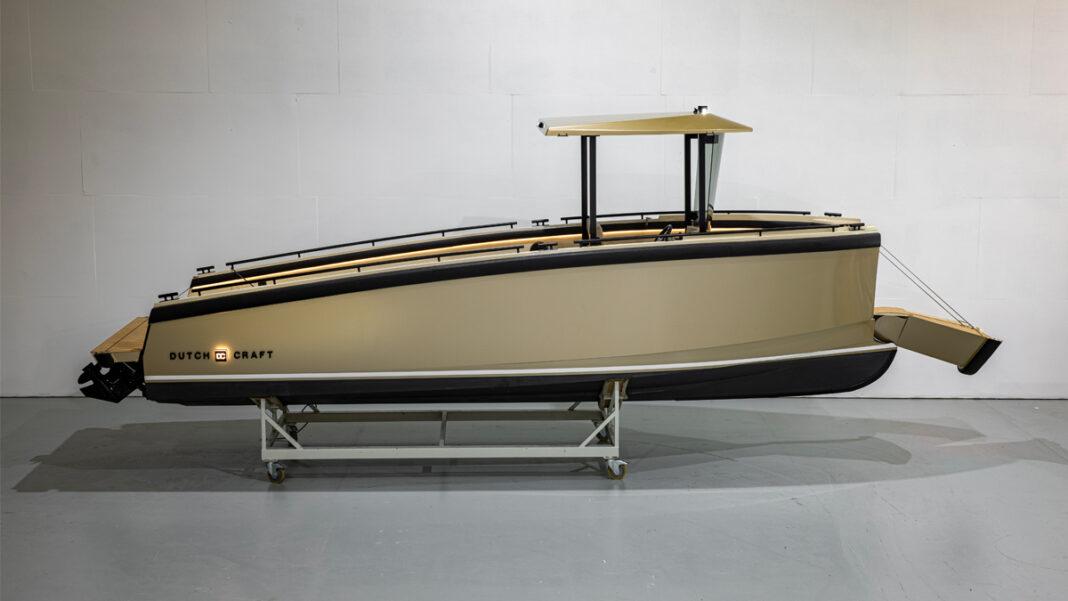 dutchcraft dc25 superyacht tender